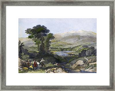 Greece: Mount Olympus Framed Print by Granger