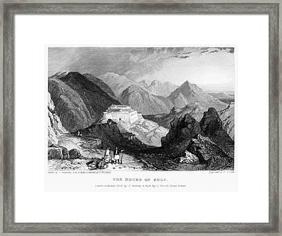 Greece: Souli, 1833 Framed Print by Granger