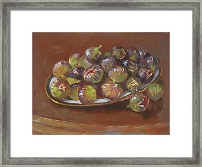 Greek Figs Framed Print by Ylli Haruni