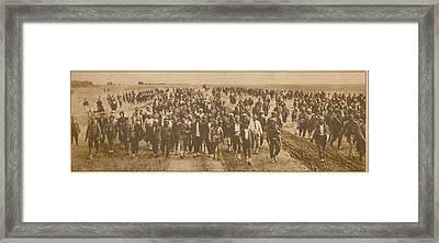Greek Refugees Were Forced Framed Print by Everett