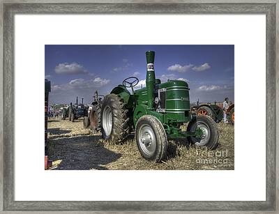Green Field Marshall Framed Print by Rob Hawkins