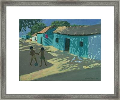 Green House Framed Print by Andrew Macara