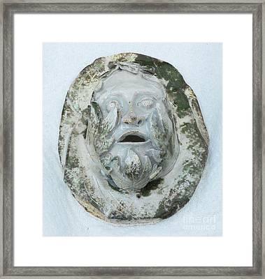 Green Man 3 Framed Print by John Keasler