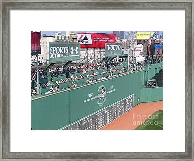 Green Monster Framed Print by Kevin Fortier
