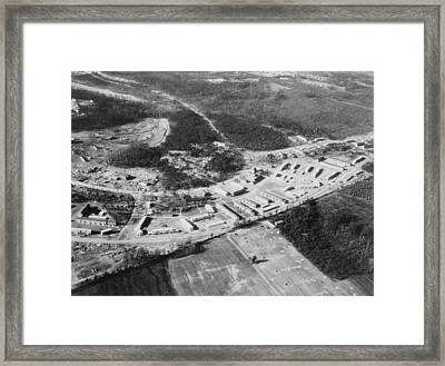 Greenbelt, Maryland Was The First Model Framed Print by Everett