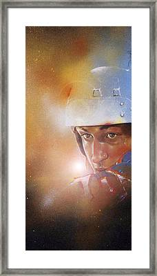 Gretzky Framed Print by Gary McLaughlin