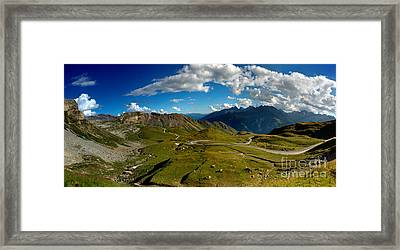 Grossglockner High Alpine Road Framed Print by Nailia Schwarz