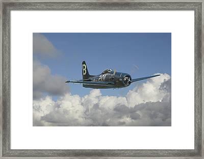 Grumman Bearcat Framed Print by Pat Speirs