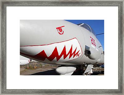 Grumman F-14a Tomcat Fighter Jet Plane . 7d11216 Framed Print by Wingsdomain Art and Photography