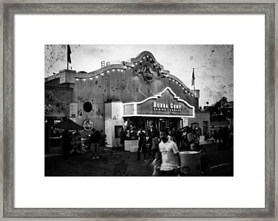 Grungy Gump Framed Print by Ricky Barnard
