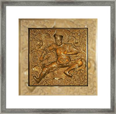 Guardian Warrior - It Can't Hurt To Have Your Own Framed Print by Christine Till