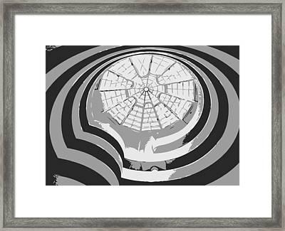 Guggenheim Museum Bw3 Framed Print by Scott Kelley