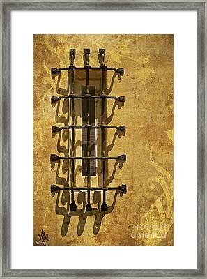 Guineveres Window Framed Print by Van Schipper