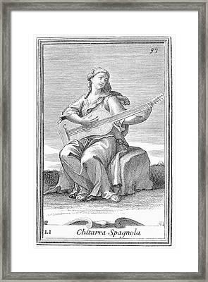 Guitar, 1723 Framed Print by Granger