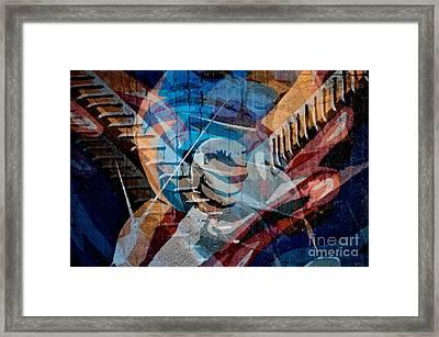 Guitar Man Framed Print by Sherry Davis