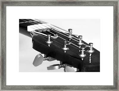 Guitar Framed Print by Svetlana Sewell