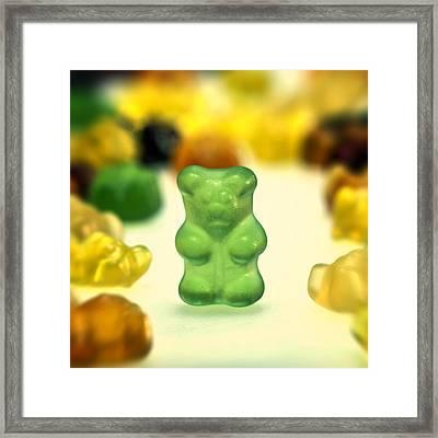 Gummi Bear Framed Print by Joana Kruse