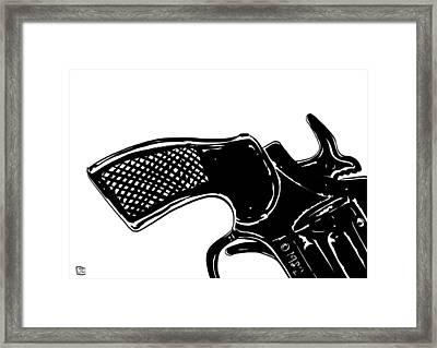 Gun Number 2 Framed Print by Giuseppe Cristiano