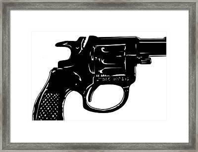 Gun Number 3 Framed Print by Giuseppe Cristiano