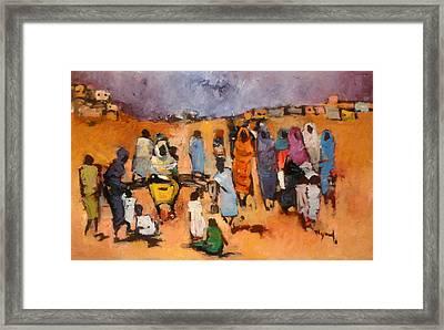 Haboba2 Framed Print by Negoud Dahab
