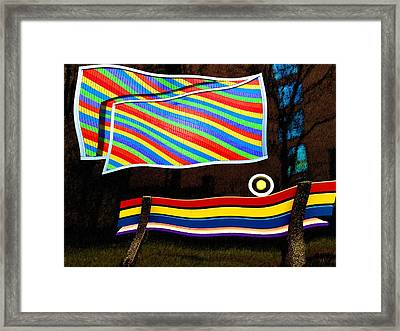 Had This Been An Actual Emergency Framed Print by Paul Wear