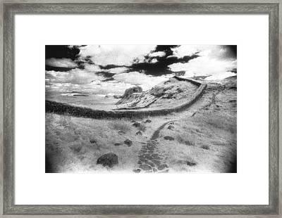 Hadrians Wall Framed Print by Simon Marsden