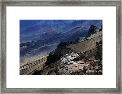 Haleakala Crater  Framed Print by Bob Christopher
