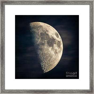 half moon III Framed Print by Hannes Cmarits