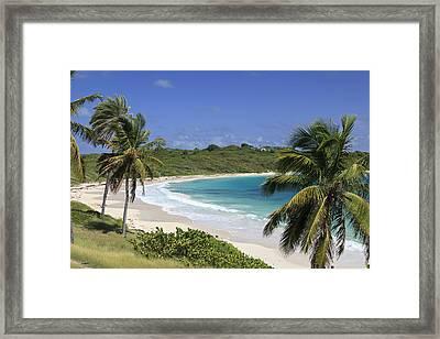 Halfmoon Bay, Antigua And Barbuda Framed Print by Michele Falzone