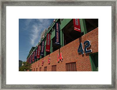 Hall Of Famers Framed Print by Paul Mangold