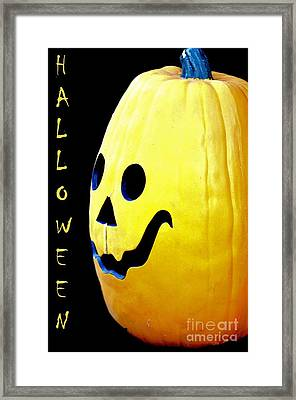 Halloween 1 Framed Print by Maria Urso