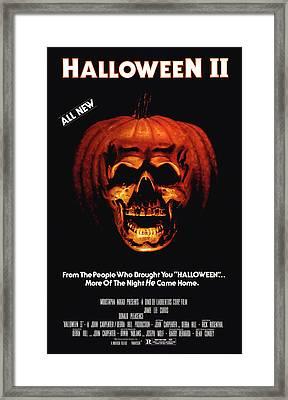 Halloween II, 1981 Framed Print by Everett