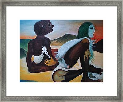 Hallucination Framed Print by Prasenjit Dhar
