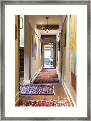 Hallway Framed Print by Andersen Ross