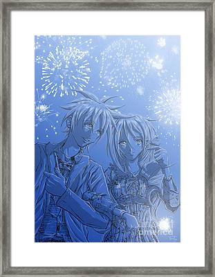 Hanabi Framed Print by Tuan HollaBack