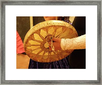 Hand Drum Framed Print by FeVa  Fotos