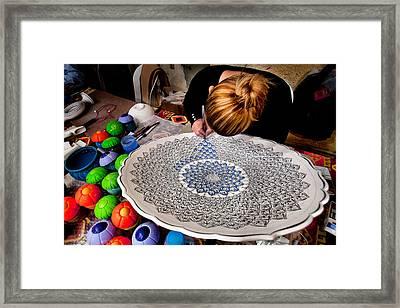 Handcraft Framed Print by Okan YILMAZ
