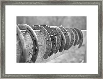 Hanging On Framed Print by Betsy C Knapp