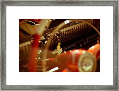 Hanging With Marilyn  Framed Print by Michael Kerckaert