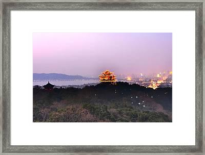 Hangzhou Framed Print by Andy Brandl