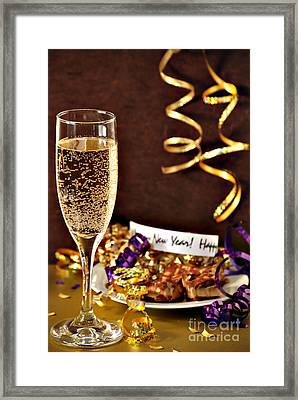 Happy New Years Framed Print by HD Connelly
