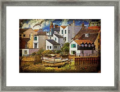 Harbor Houses Framed Print by Chris Lord