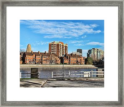Harbor Side2 Framed Print by Peter Chilelli