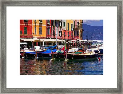Harbour Framed Print by John Galbo