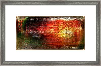 Harmonic Distortion Framed Print by Li   van Saathoff