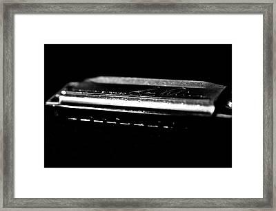 Harmonica One Framed Print by Sam Hymas