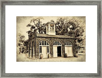 Harpers Ferry Armory Framed Print by Bill Cannon