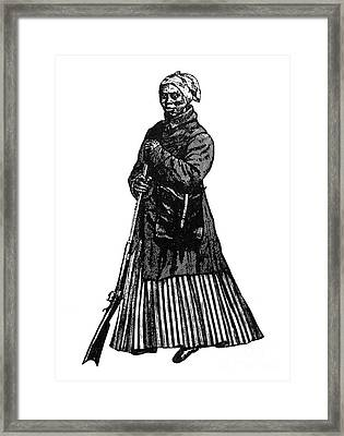 Harriet Tubman (c1823-1913) Framed Print by Granger