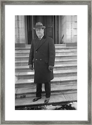 Harry F. Sinclair 1876-1956, Oil Framed Print by Everett