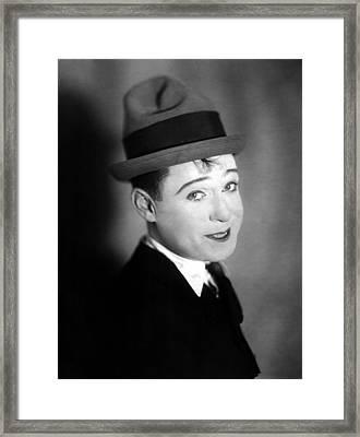 Harry Langdon Framed Print by Everett